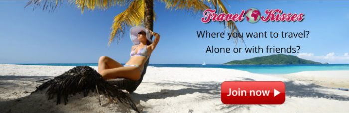 Holiday with a pretty woman - Travel Kisses